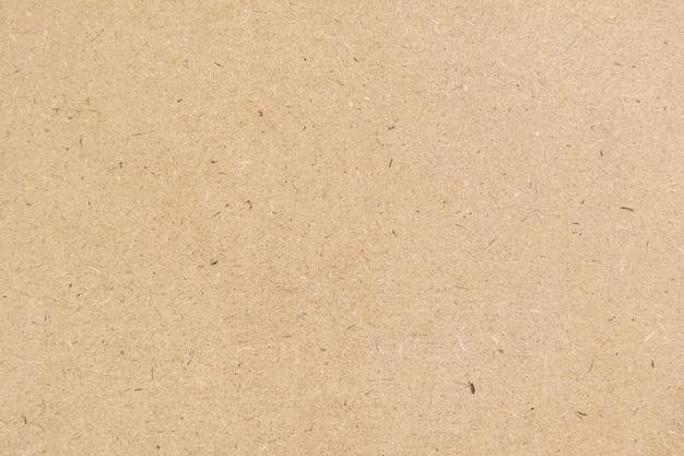 Fundo de textura de papel pardo ou superfície de papelão