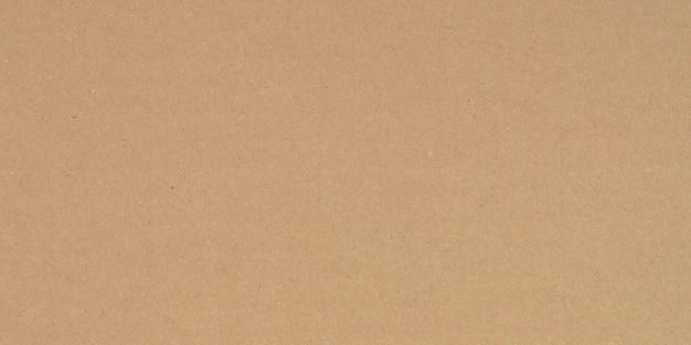 Fundo de textura de papel pardo, papel kraft horizontal e design exclusivo de papel