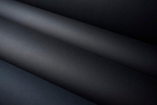 Fundo de textura de papel preto abstrato