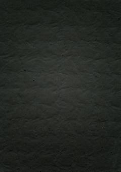 Fundo de textura de papel preto em relevo