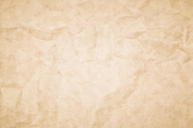 Fundo de textura de papel retrô vintage amassado grunge
