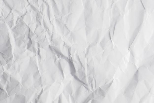 Fundo de textura de papel vincado branco