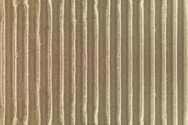 Fundo de textura de papelão ondulado