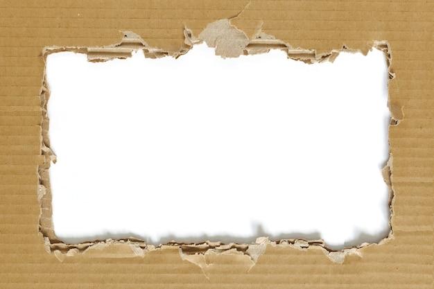 Fundo de textura de papelão para decoração e design