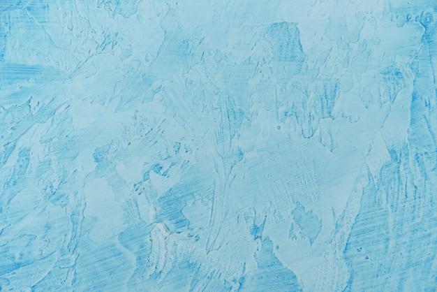 Fundo de textura de parede azul pintura abstrata