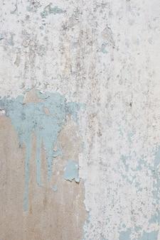 Fundo de textura de parede de concreto com tinta branca velha