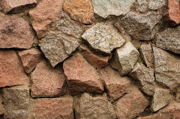 Fundo de textura de parede de fachada de pedra