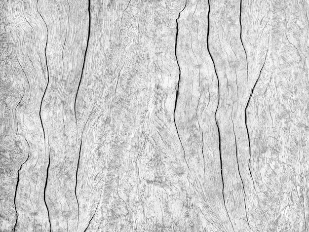 Fundo de textura de parede de madeira preto e branco vintage