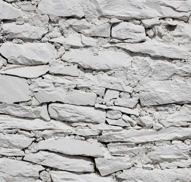 Fundo de textura de parede de pedra branca
