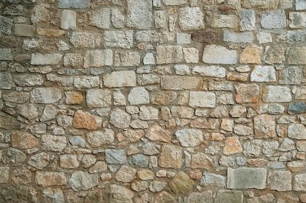 Fundo de textura de parede de pedra de granito velho