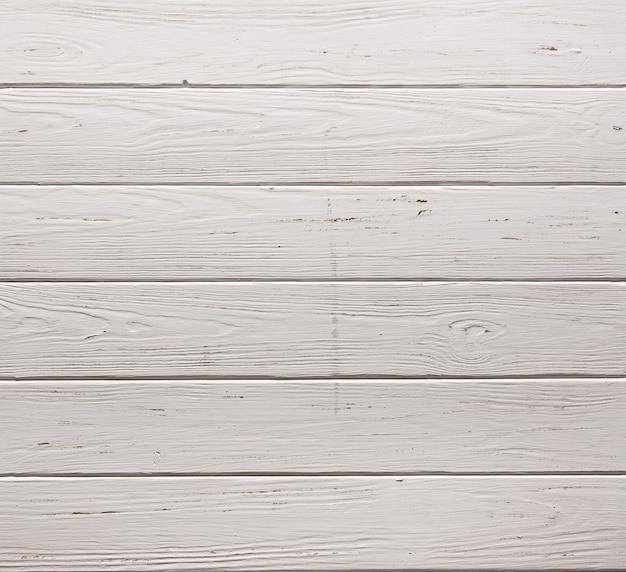 Fundo de textura de parede de pranchas de madeira rústicas brancas close up extremo