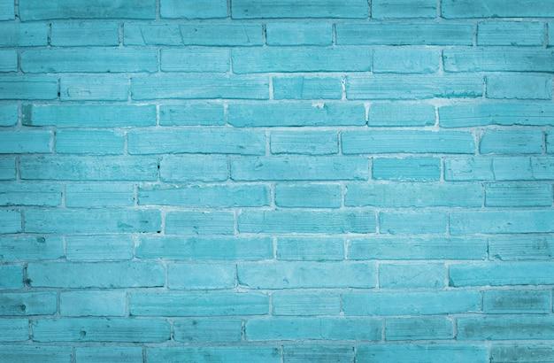 Fundo de textura de parede de tijolo azul claro