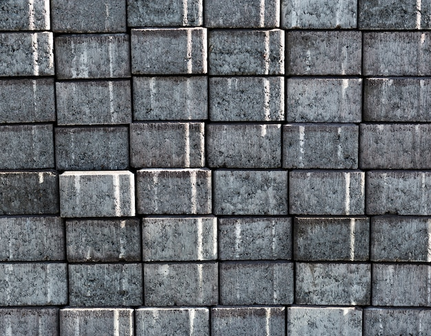Fundo de textura de parede de tijolo cinza velho