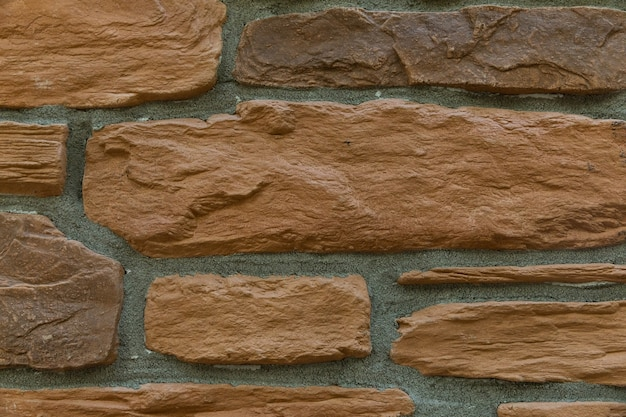 Fundo de textura de parede de tijolo marrom moderno