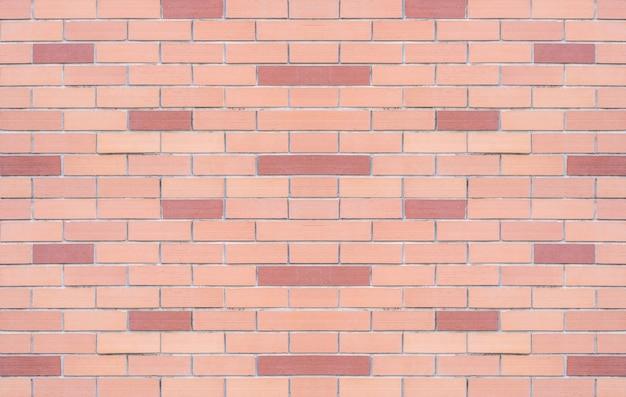 Fundo de textura de parede de tijolo vermelho closeup