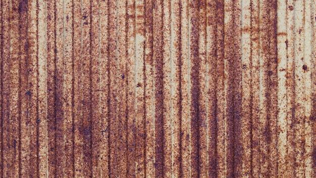 Fundo de textura de parede metálica enferrujada