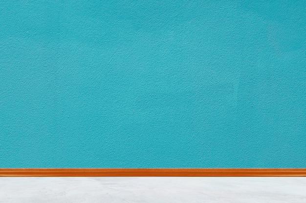 Fundo de textura de parede pintada de concreto azul para parede de casa design