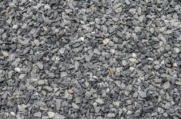 Fundo de textura de pedra cinza cascalho