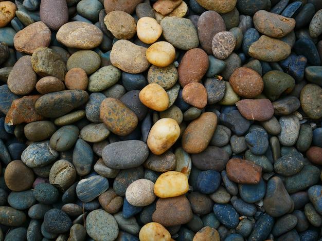 Fundo de textura de pedra seixo