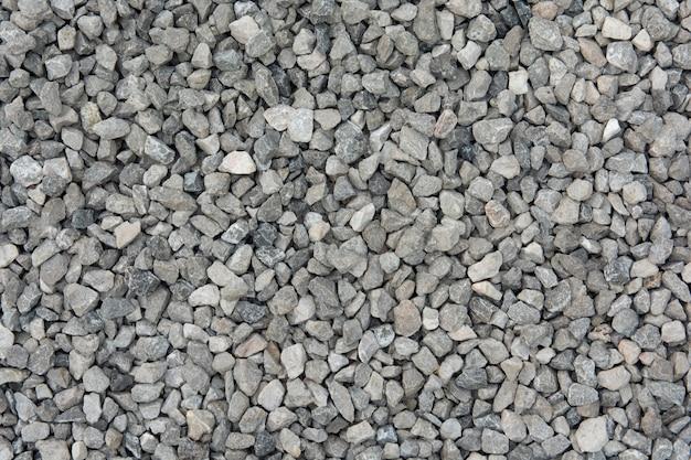 Fundo de textura de pedra triturada