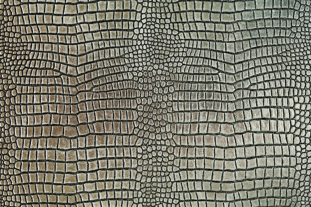 Fundo de textura de pele de crocodilo metálico