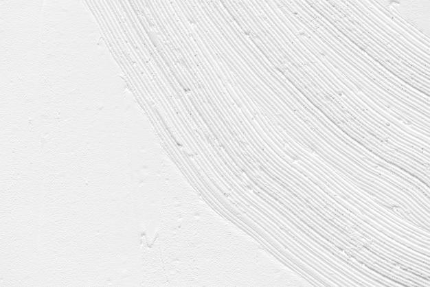 Fundo de textura de pincelada branca