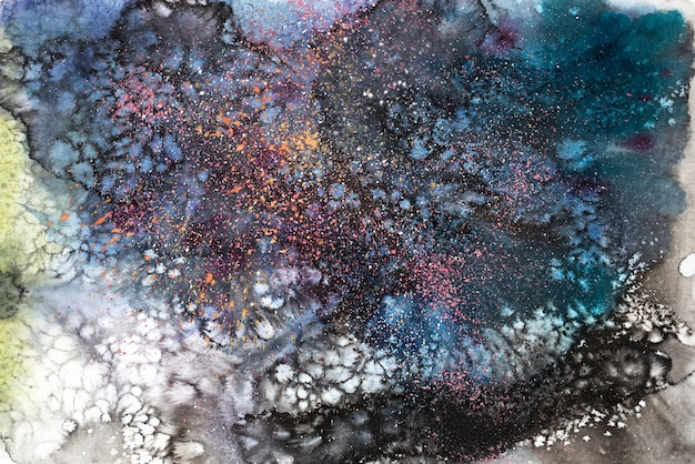 Fundo de textura de pintura abstrata em aquarela