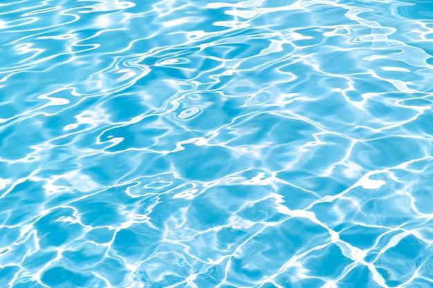 Fundo de textura de piscina. superfície da água ondulada
