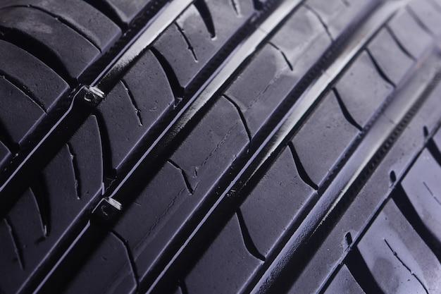 Fundo de textura de pneu protetor