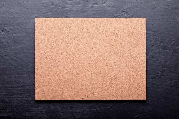 Fundo de textura de quadro de cortiça, quadro de cortiça