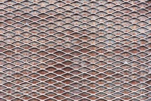 Fundo de textura de rede de metal