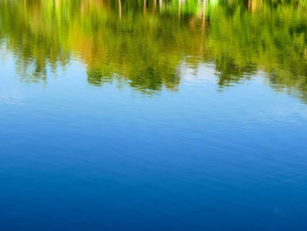 Fundo de textura de reflexão abstrata de água