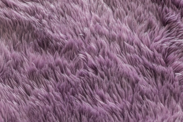 Fundo de textura de tapete roxo closeup