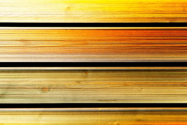 Fundo de textura de tapume horizontal de madeira