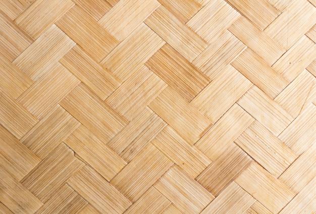 Fundo de textura de tecelagem de bambu