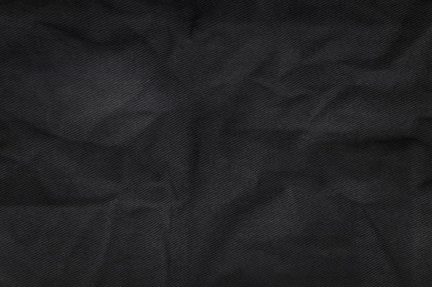 Fundo de textura de tecido abstrato. material têxtil de lona amassada.