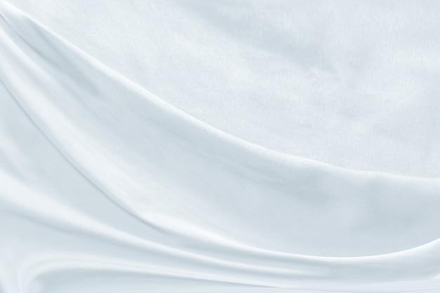 Fundo de textura de tecido branco, tecido ondulado