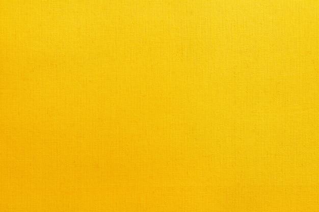 Fundo de textura de tecido de algodão amarelo dourado