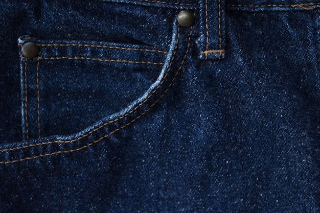Fundo de textura de tecido de jeans