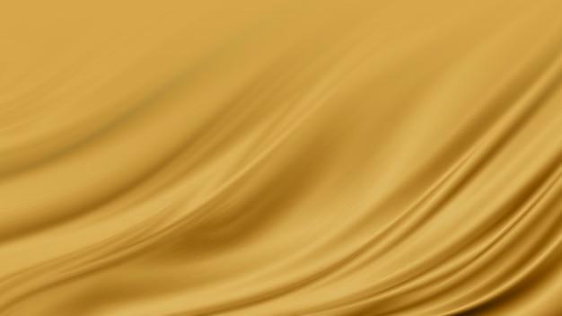 Fundo de textura de tecido de luxo dourado