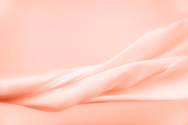 Fundo de textura de tecido em pêssego para banner do blog