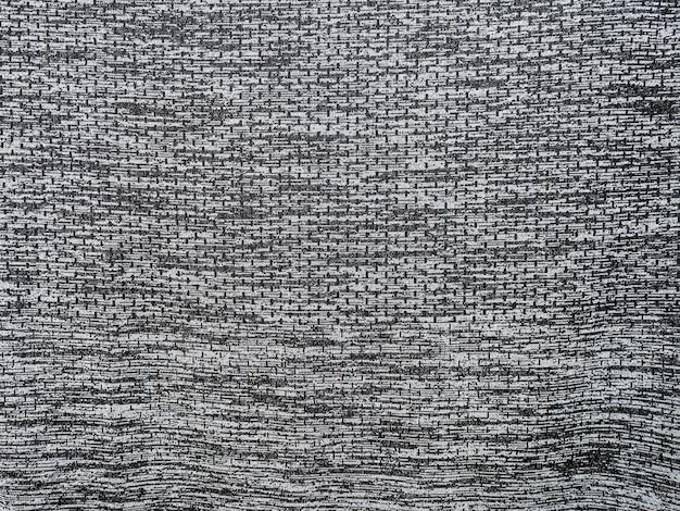 Fundo de textura de tecido esportivo, fundo de desgaste de esportes preto e branco