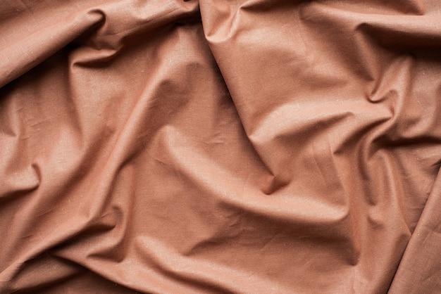 Fundo de textura de tecido marrom chocolate