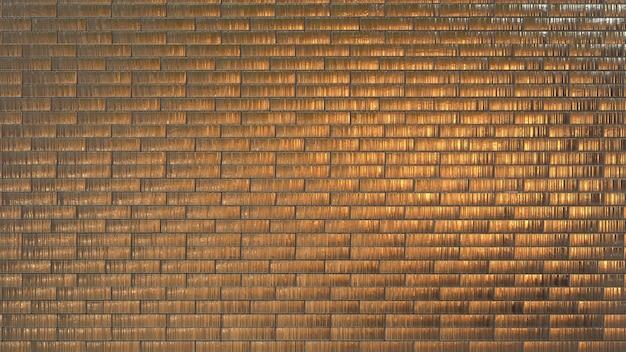 Fundo de textura de telhas de madeira