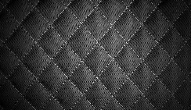 Fundo de textura de têxteis de fila preta