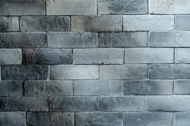 Fundo de textura de tijolo branco cinza