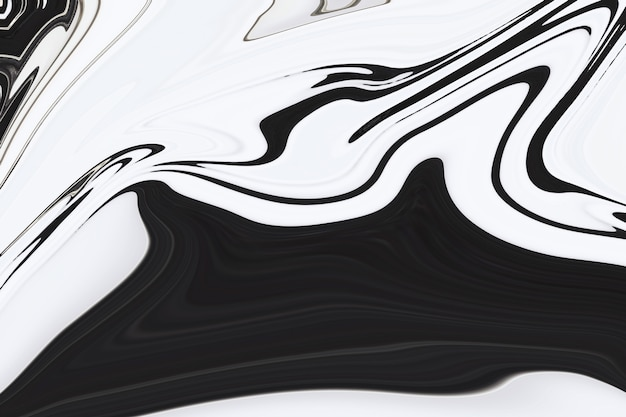 Fundo de textura de tinta de marmoreio de arte fluida cinza