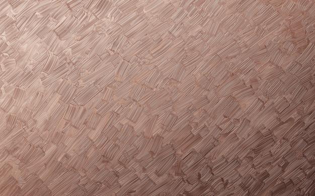 Fundo de textura de traçado de pincel cor de cobre