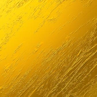 Fundo de textura de traçado de pincel ouro