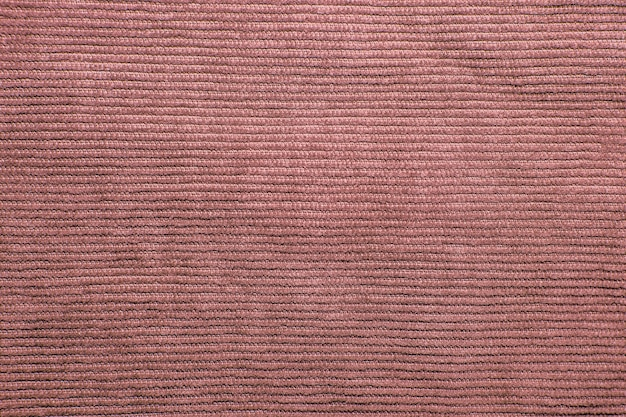 Fundo de textura de veludo cotelê com nervuras